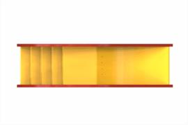 1210 8910 Rainbow Slide Ba