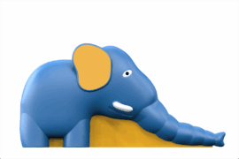 1210 9201 Elephant Slide Za