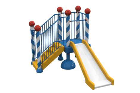 1310 9602 Platform With Slide