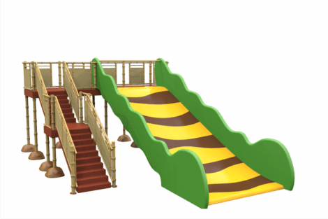 1220 9839 Jungle Family Slide