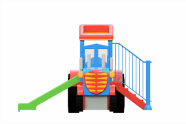 1230 4037 Tractor With Slide Va