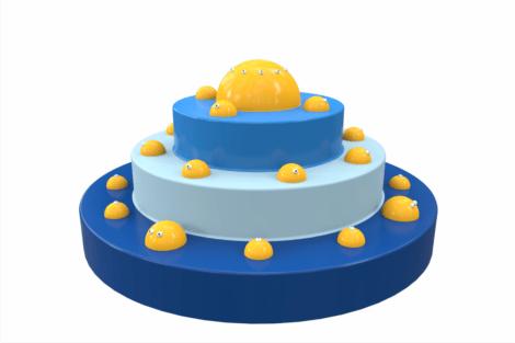 1410 9826 Splash Fountain