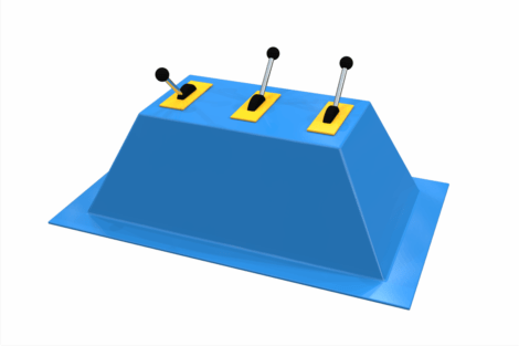 1410 9827 Control Panel Splash Fountain