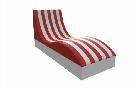 1410 9950 Beach Chair