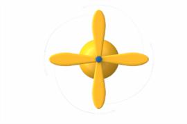 1410 9971 Rotating Stick Ba
