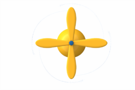 1410 9971 Rotating Stick