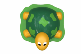 1420 8929 Splash Jungle Turtle