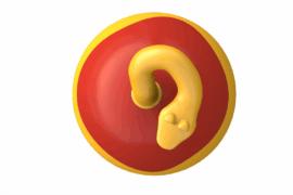 1110 8920 Snake Ball Ø 80 Cm Ba