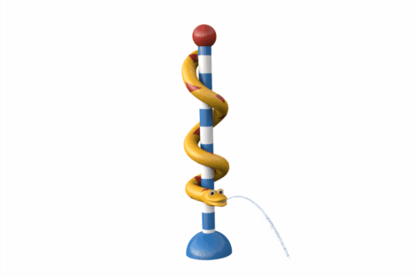 1110 8921 Snake Pillar