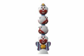 1110 8934 Clowns Totem Four Headed Va