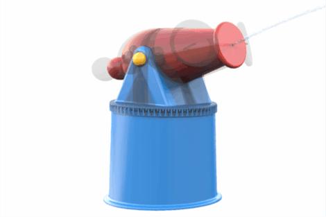 1110 9036 Water Cannon Revolving