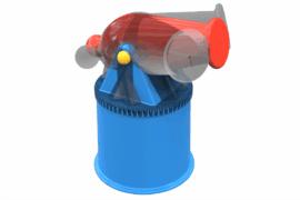 1110 9036 Water Cannon Revolving Za
