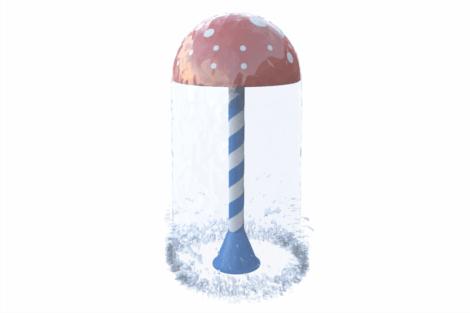 1110 9038 Mushroom Ø120 Cm