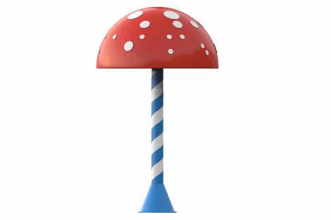 1110 9039 Mushroom Ø160 Cm Va