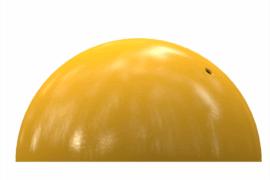 1110 9220 Half Ball Ø 20 Cm