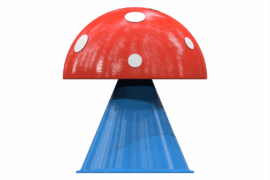 1110 9407 Mushroom Ø60 Cm Za