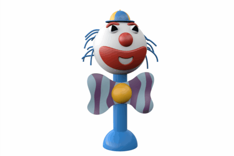 1110 9502 Giant Clown