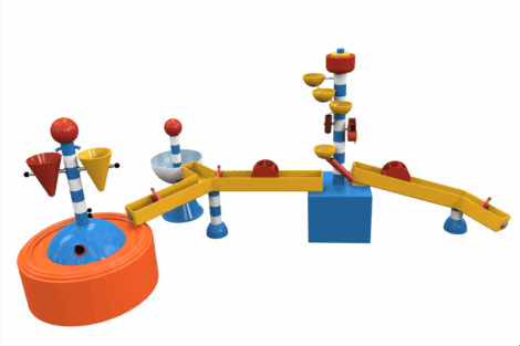 1110 9851 Water Play Table Xl