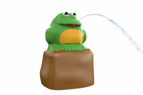 1120 9701 Jungle Frog