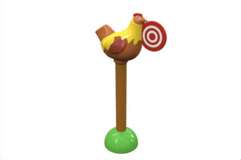 1130 9712 Rotating Chicken