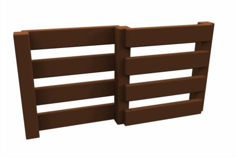 1130 9720 Fence Pig Shed