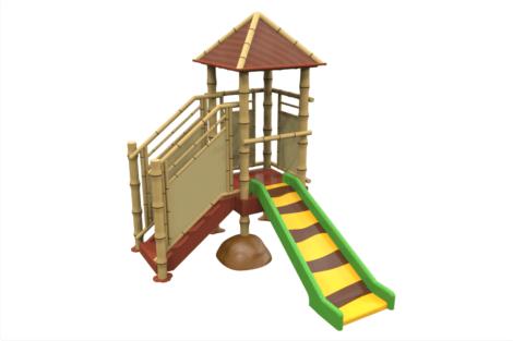 1320 9218 Jungle Hut With Slide