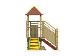 1320 9218 Jungle Hut With Slide Va