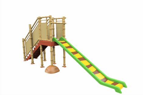 1320 9405 Jungle Tower With Slide