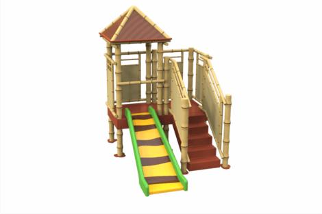 1320 9633 Jungle Hut With Balcony