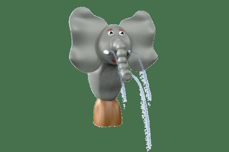1120 9052 Jungle elephant w