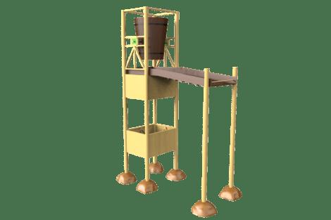1120 Jungle tumble tower L