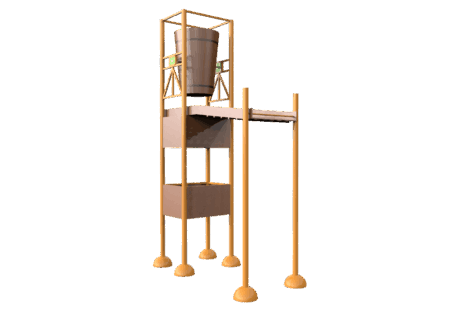 1130 9848 Wooden tumble tower XL p