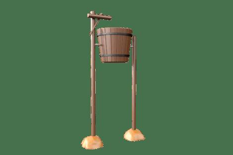1130 9906 Giant wooden tumble bucket
