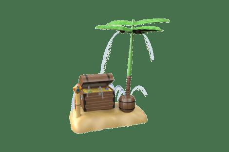 1140 9955 Treasure island w p