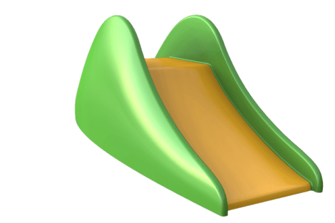 1210 9801 Jungle midi slide yellow green p