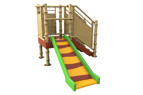 1220 9841 Jungle platform with slide p