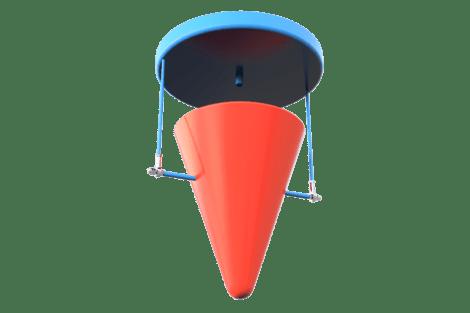 9612 Plafond tuimelemmer solo