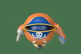 1140 9631 Pirate mascot bear ba