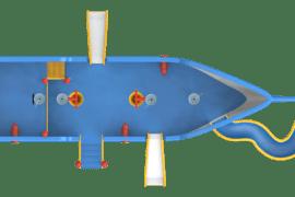 1510 4000 Colourful ship ba