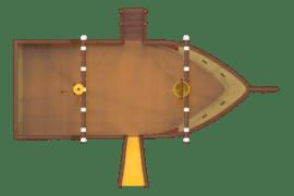 1540 4001 Pirate ship classic ba
