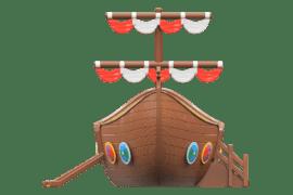 1590 4000 Viking ship za