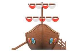1590 4000 Viking ship za
